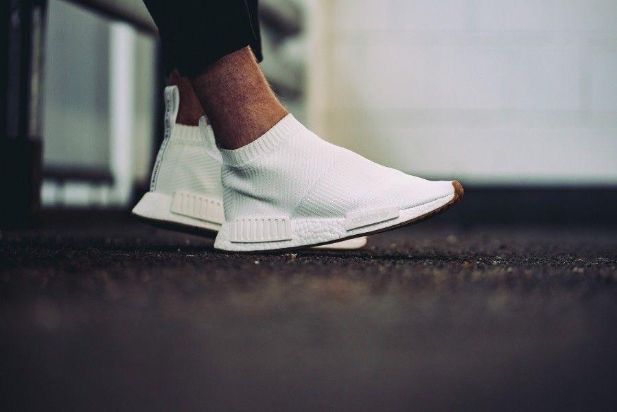Adidas NMD CS1 City Sock PK Size 12. Primeknit White Gum BA7208 . Ultra  Boost  6f8cf5aad