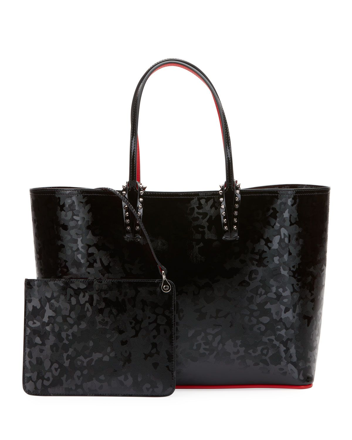 dd3694793ab Exclusive Cabata Patent Panther   Products   Bags, Christian ...