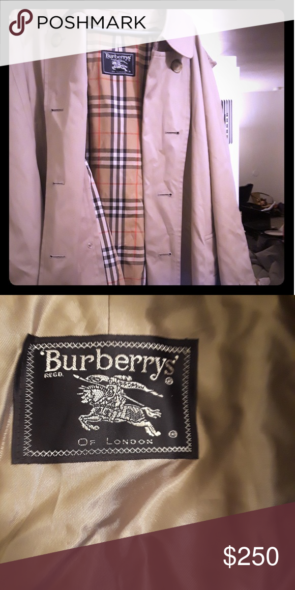3efe28e7323 Authentic Burberry trench coat Mens coat Near perfect condition Burberry  Jackets   Coats Trench Coats