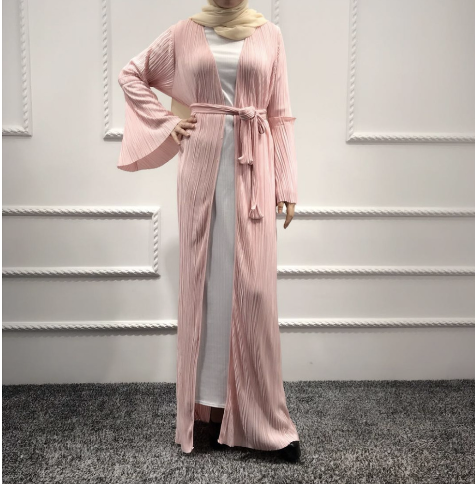 Kadiatou Turkey Clothes Pleated Dress Fashion Dresses