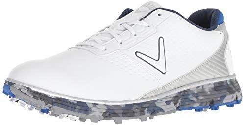 977f11538 Callaway Men s Balboa TRX Golf Shoe White Blue 10.5 M US