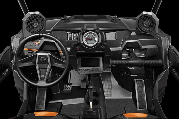 Polaris RZR Dash Mount All-Weather Speaker Pods | four wheelers