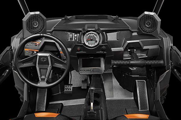 Polaris RZR Dash Switch Plate Fits All XP 1K XP 1000 Black