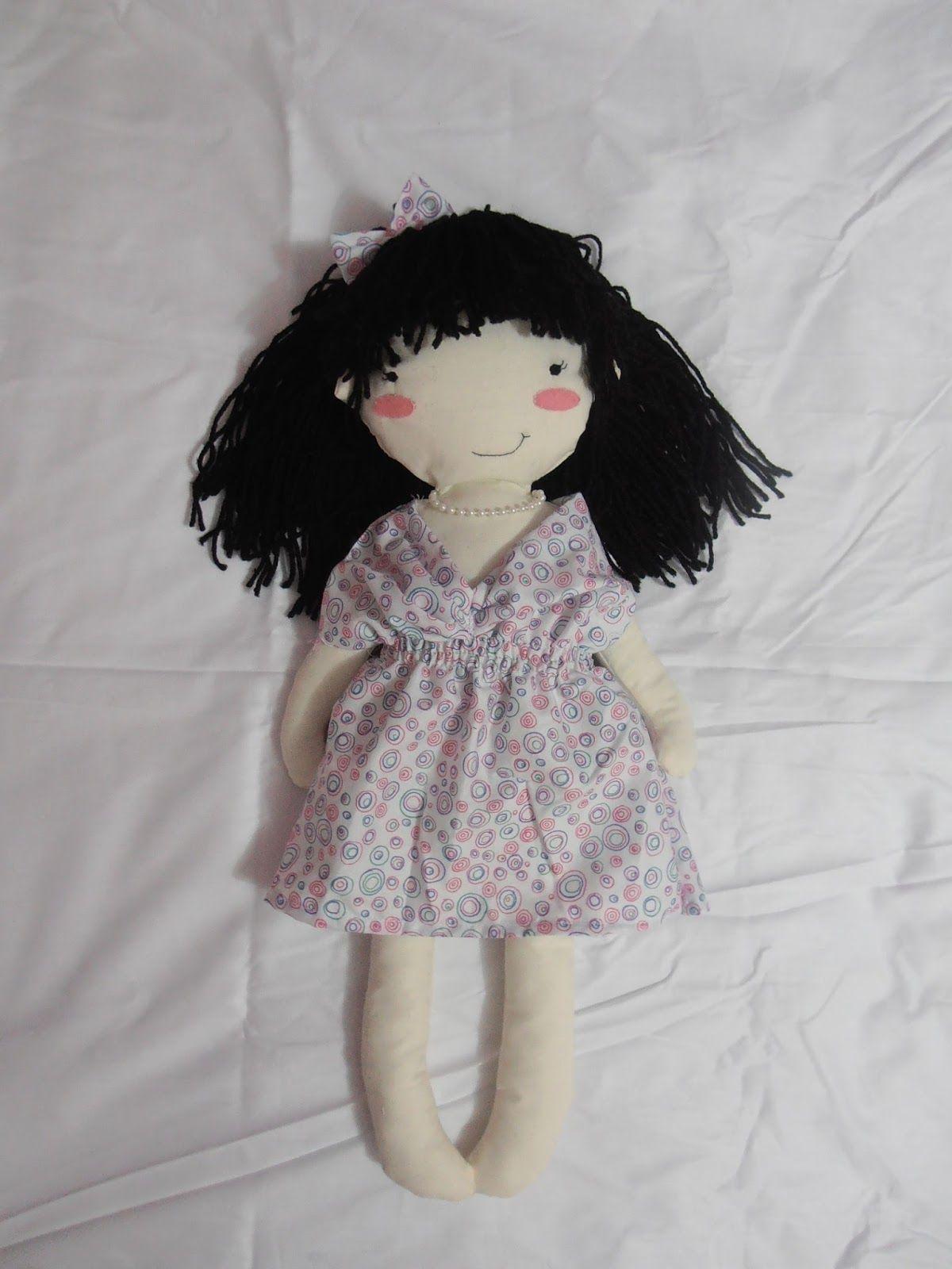 Muñeca de trapo lacito