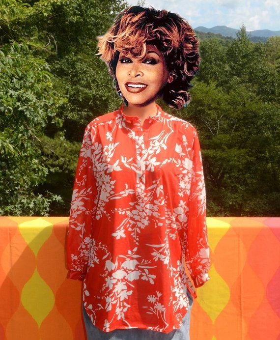 d06729a7 vintage 60s women's shirt TUNIC kaftan beach by skippyhaha on Etsy ...