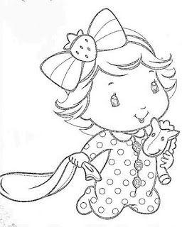 BAUZINHO DA WEB - BAÚ DA WEB : Desenhos e riscos da Moranguinho baby para colorir, pintar, imprimir! Moranguinho bebê desenhos e sua turma