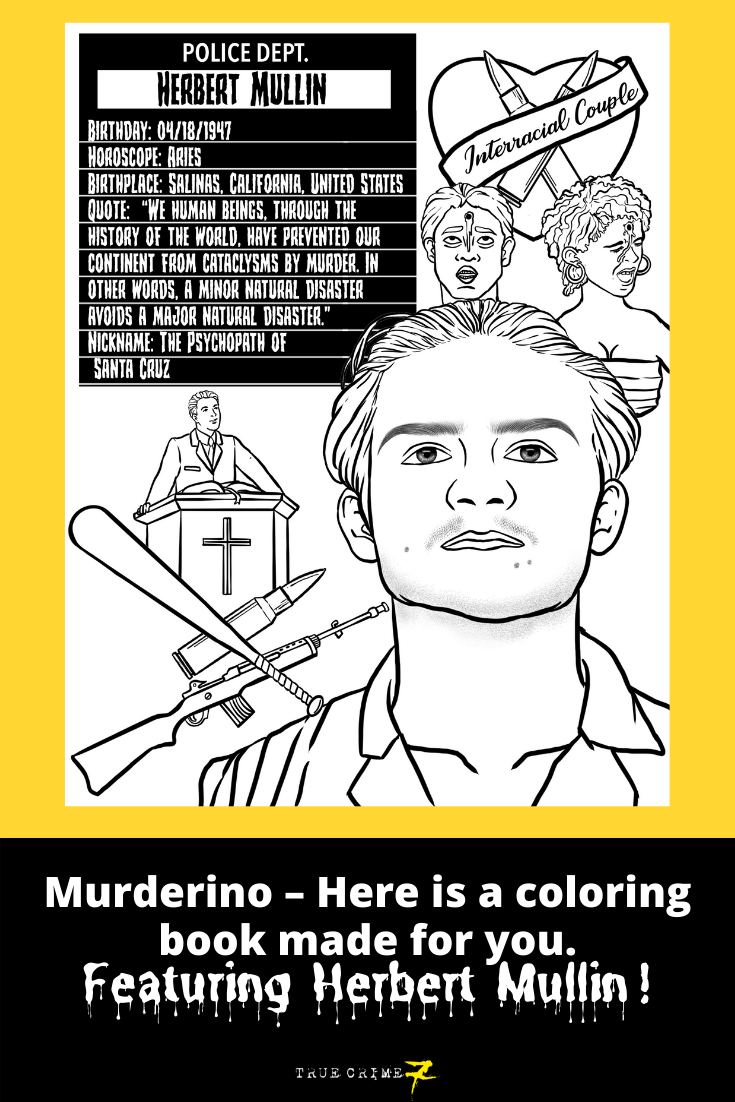 This unique coloring book features notorious deviants and ...