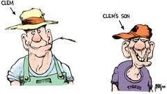 Clem and Clem's son.