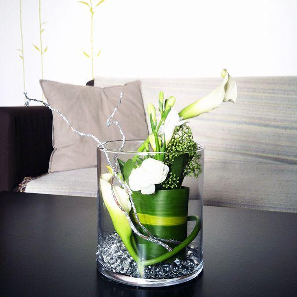 id es composition florale composition florale de f te avec truffaut fleurs pinterest. Black Bedroom Furniture Sets. Home Design Ideas