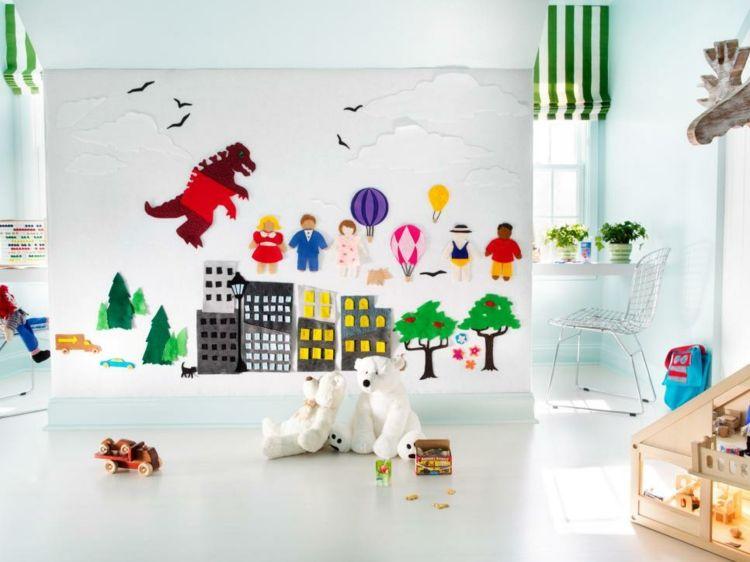 Kinderzimmer unterm Dach gestalten \u2013 Idee zur Renovierung Pinterest
