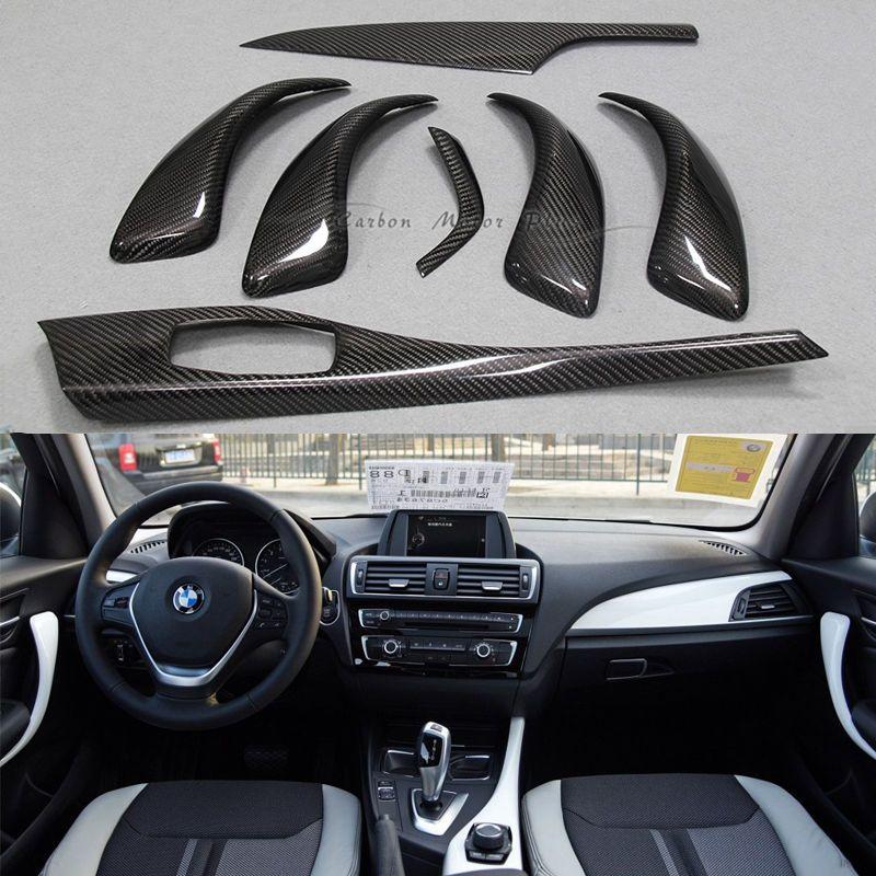 Rear Carbon Fiber Interior Trim Mouldings For Bmw 1 Series F20
