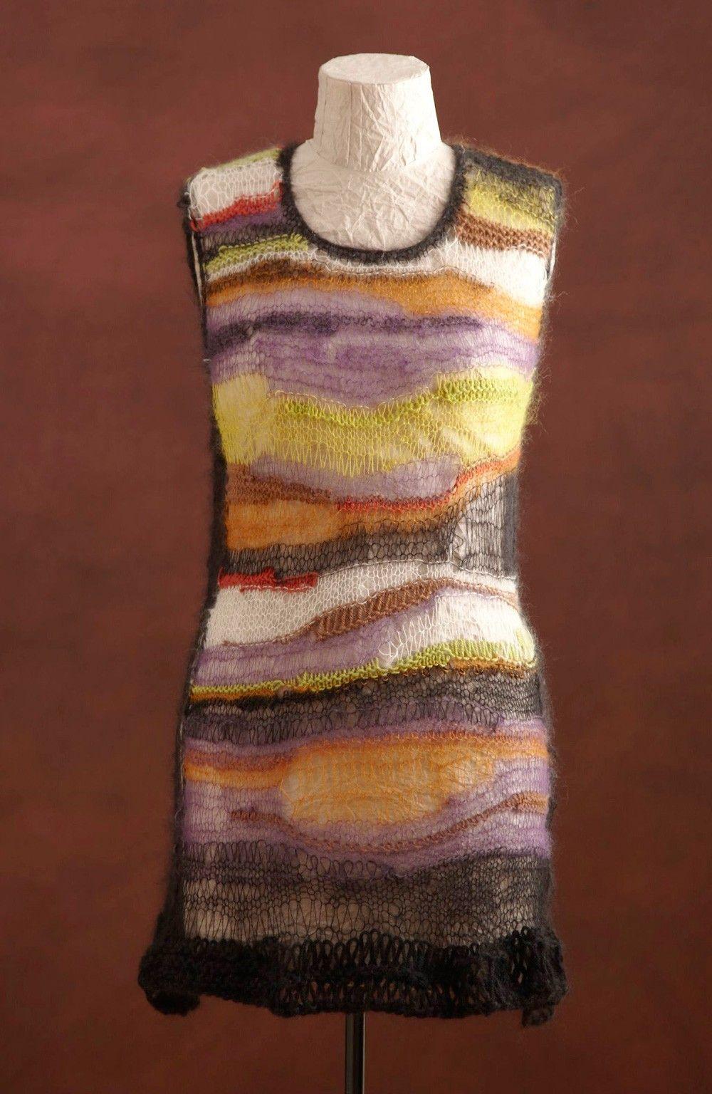 Avant-Garde Tunic (Knit) | knitted clothing | Pinterest | Avant ...