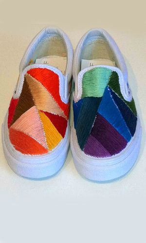 2948a23c67 Celebrities and Fashion Designers Create Their Own Vans for Vans ...