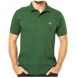 c8aa0c89a9f Polo masculina Lacoste verde L121221