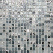 City lights  glass mosaic tile also in london things  would