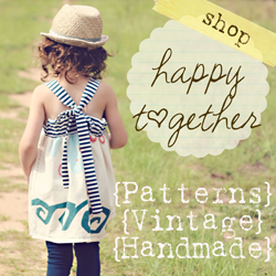 Happy Together: Roses and Ruffles- The T-shirt to Toddler Dress Tutorial