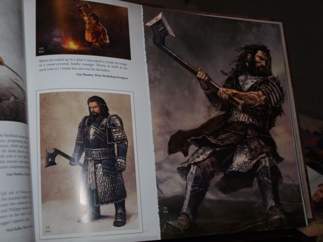 The Hobbit: an Unexpected Journey: Chronicles: Art & Design #thorin