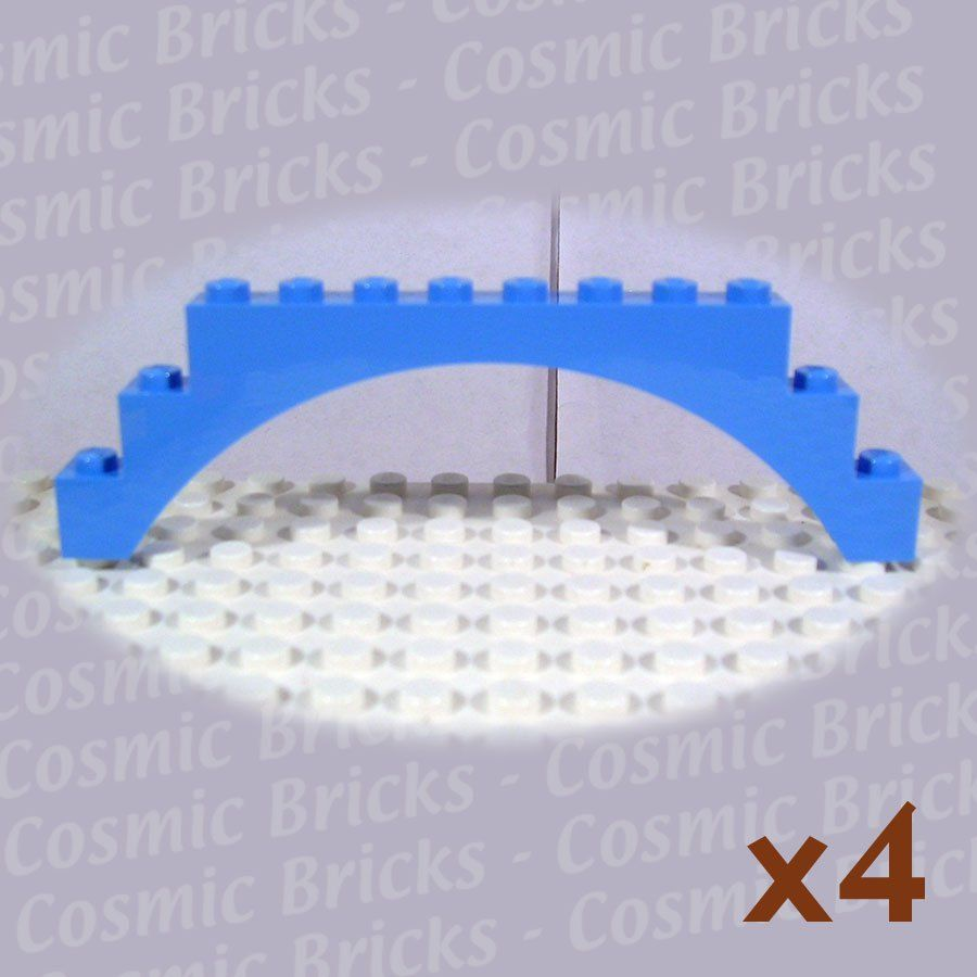 Lego Medium Blue Arch 1x12x3 P N 6108 Pack Of 4 Bricks Plates And Parts Pinterest Arch