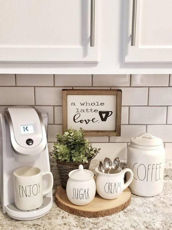 A whole latte love ( Made To Order). Coffee Sign. Coffee Bar sign. Rustic framed sign. Coffee station. Valentines Sign. Valentines Decor.