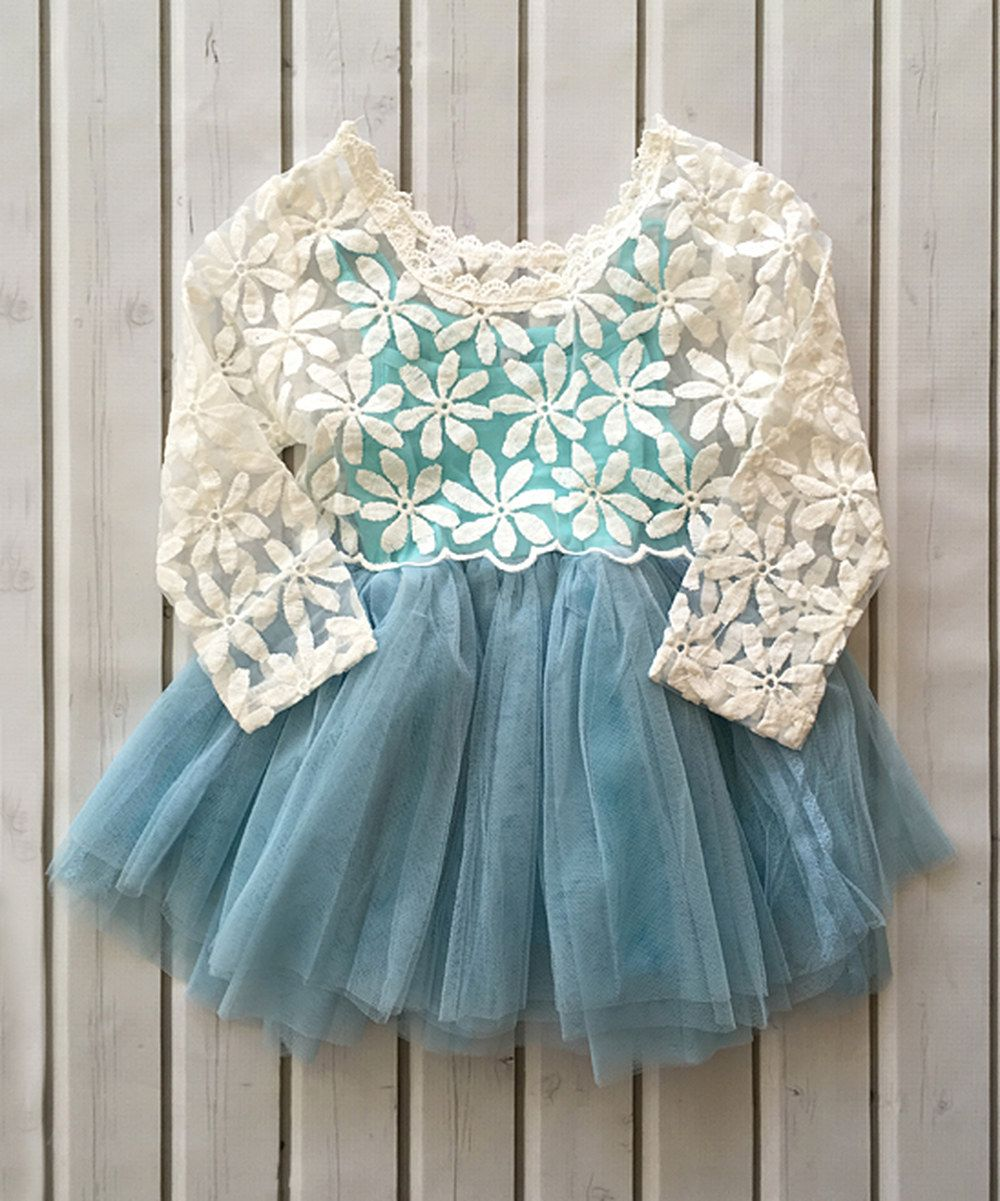Look at this Blue Overlay Tank Dress - Infant, Toddler & Girls on ...