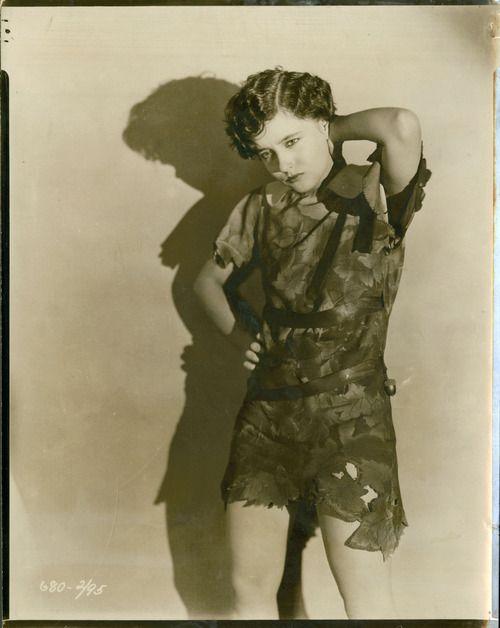 Betty Bronson as Peter Pan - 1924