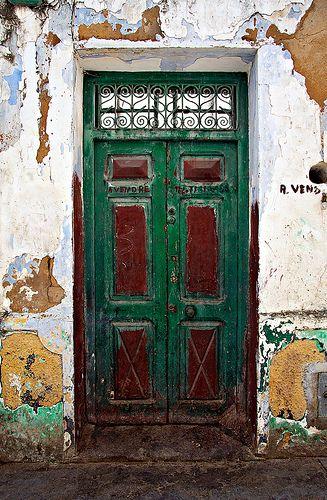Asilah Door II Antique doors, Unique doors, Old doors