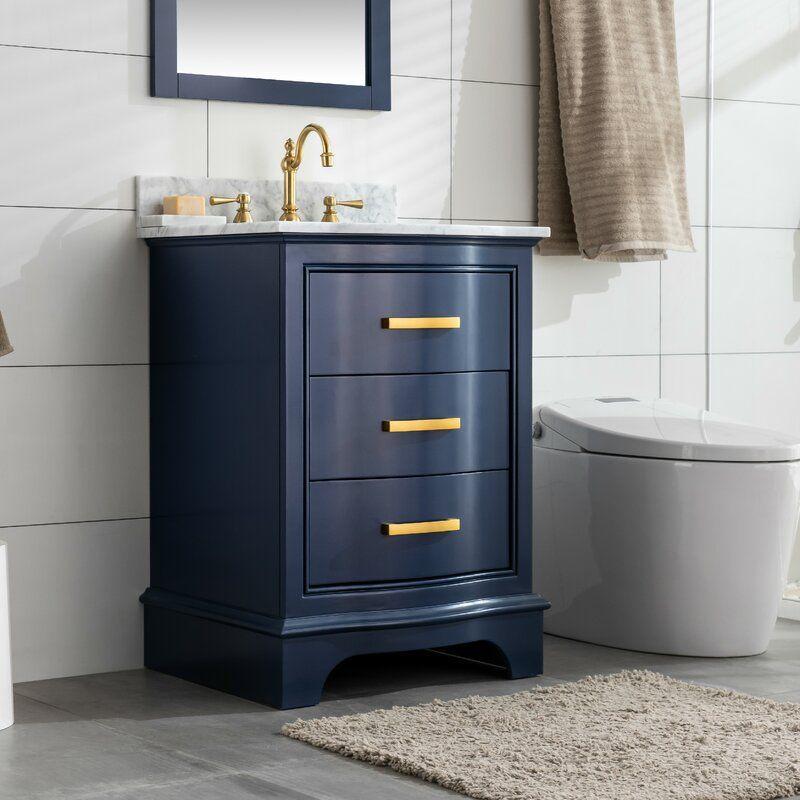 Goleta 24 Single Bathroom Vanity Set Reviews Birch Lane In 2020 Single Bathroom Vanity Bathroom Vanity Double Vanity Bathroom