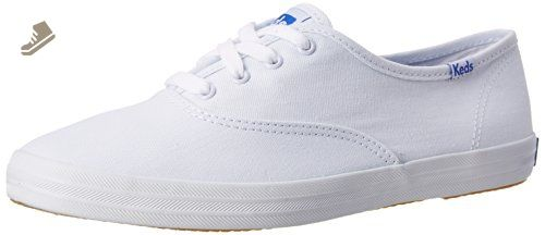 a09301cb73931 Keds Women's Champion Original Canvas Sneaker, White,7.5 XW - Keds ...