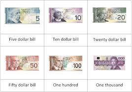 Canadian Play Money Printables Free Google Search