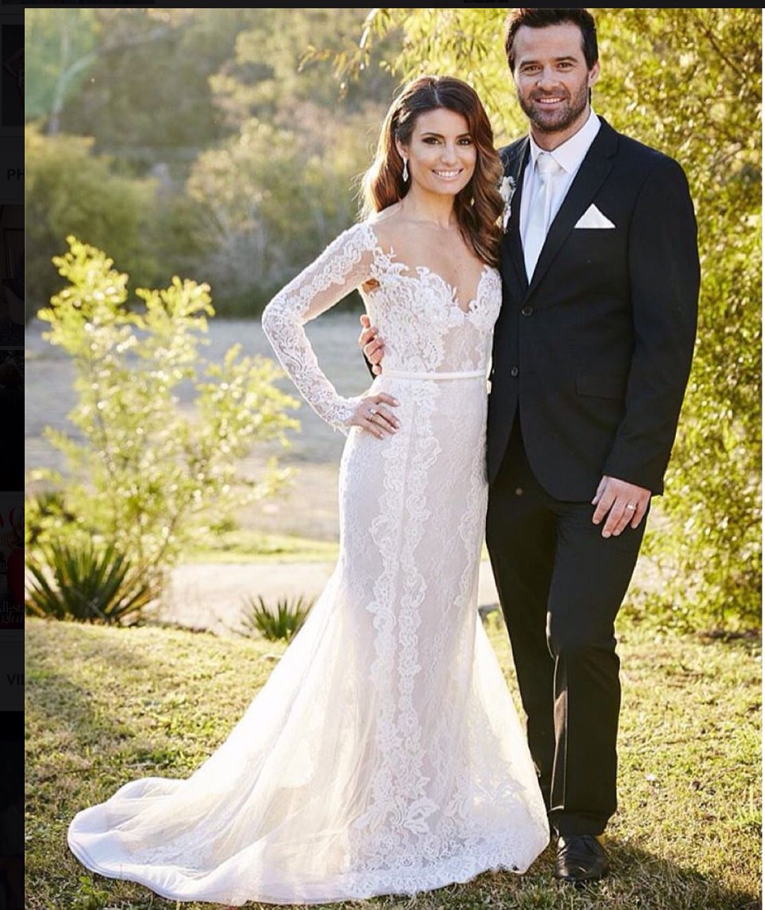 Paolo Sebastian Gown - Leah In Home And Away
