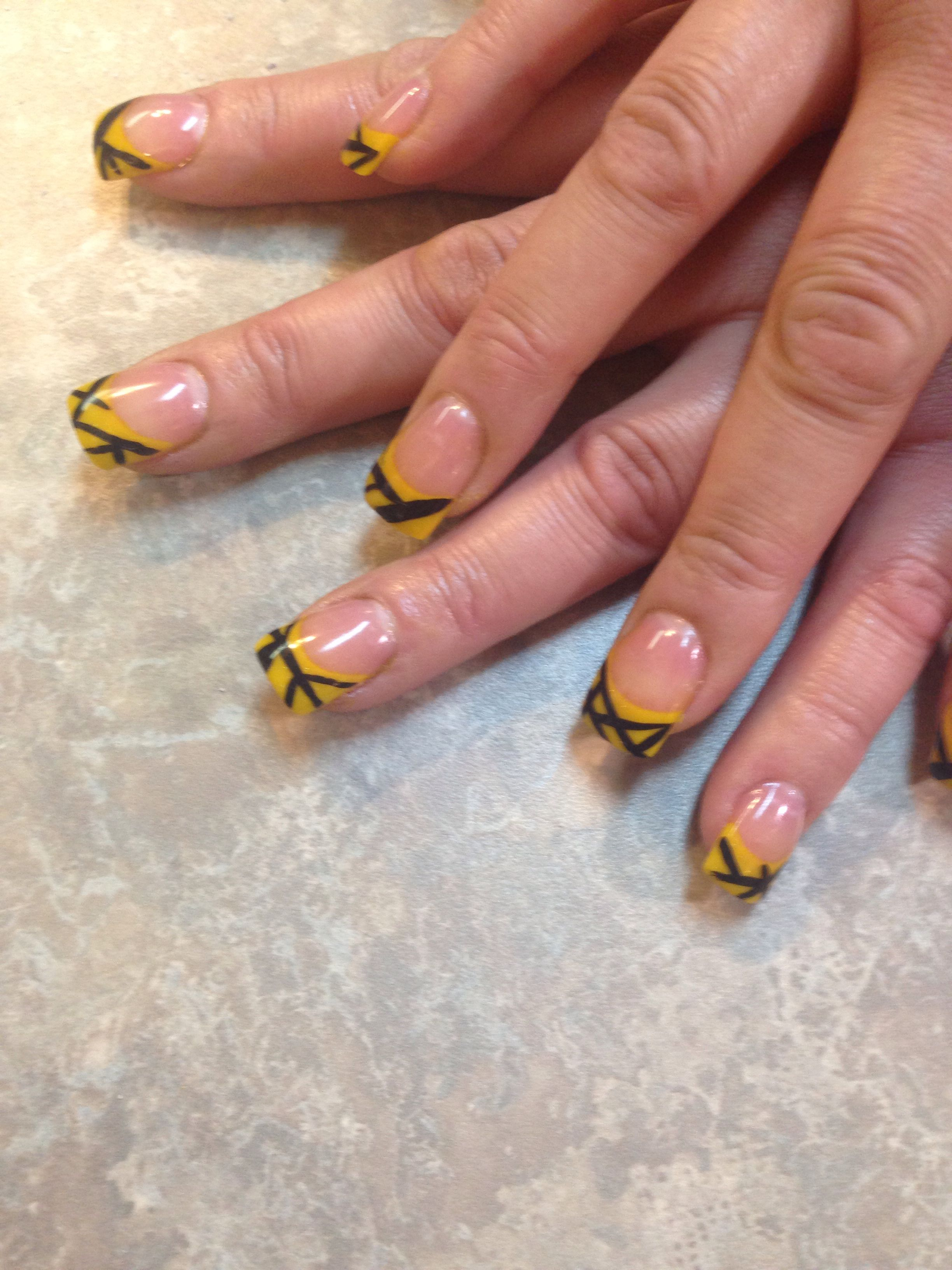Van Halen Tribute Nailart Goddessnails Handpainted With Images Nail Art Hand Painted Nails