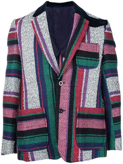 SACAI Mexican Stripe Blazer. #sacai #cloth #blazer