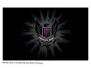 Quentin Monster Energy Army Wallpaper Energy Logo