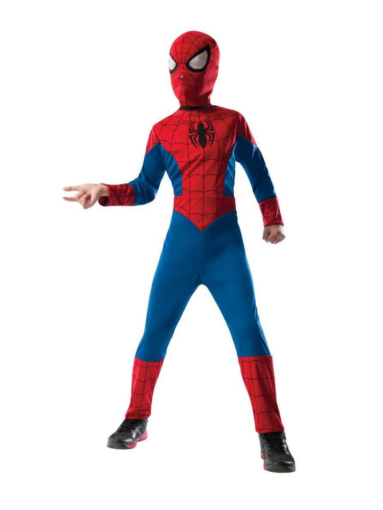 Adult Kids Marvel Venom Spiderman Cosplay Jumpsuit Halloween Masquerade Costume