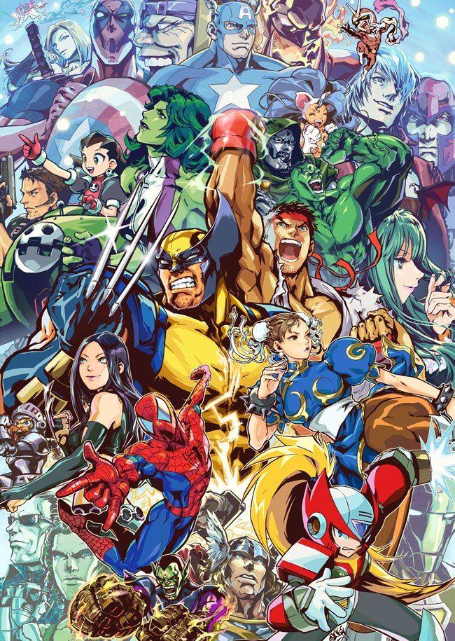 Super Hero Marvel vs vs