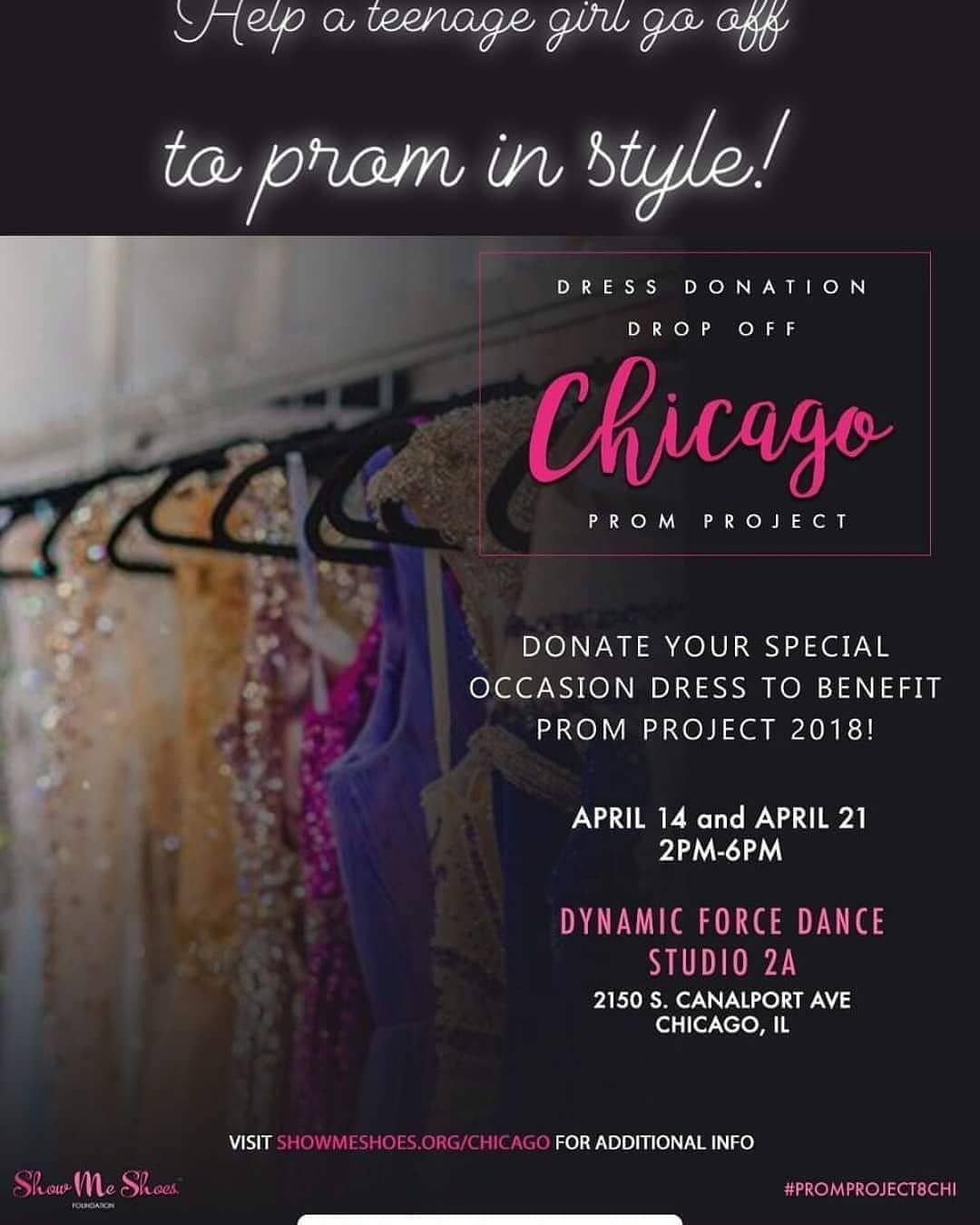 Today Drop Your Prom Donations Here Teens Prom