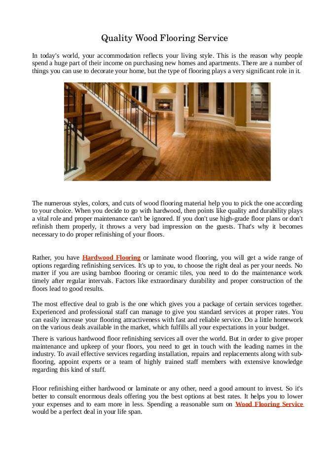 Get Best Wood Flooring Service With Best Offers Flooring Contractor Hardwood Floors Refinishing Hardwood Floors