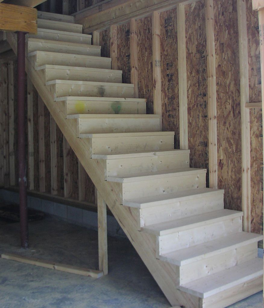 Best How To Build Stairs Garage Stairs Building Stairs 400 x 300