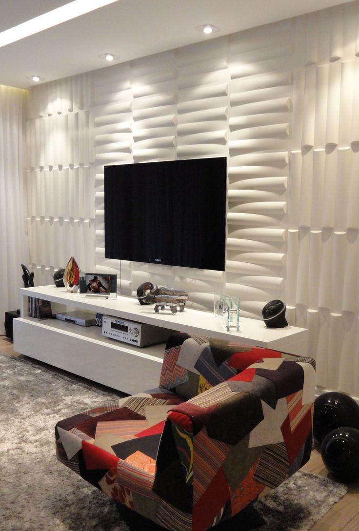 Decor revestimentos 3d revestimento 3d revestimento e 3d for Revestimento 3d sala de estar