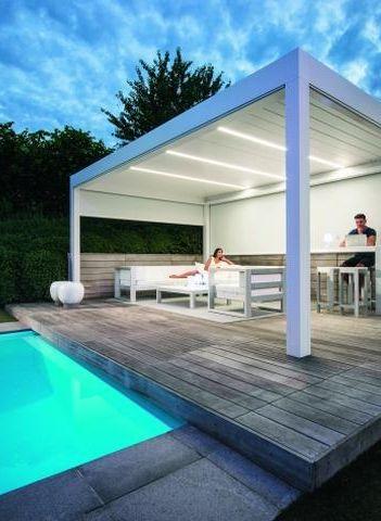 Une banne pour terrasse produit de l\'ombre et un air moins ...