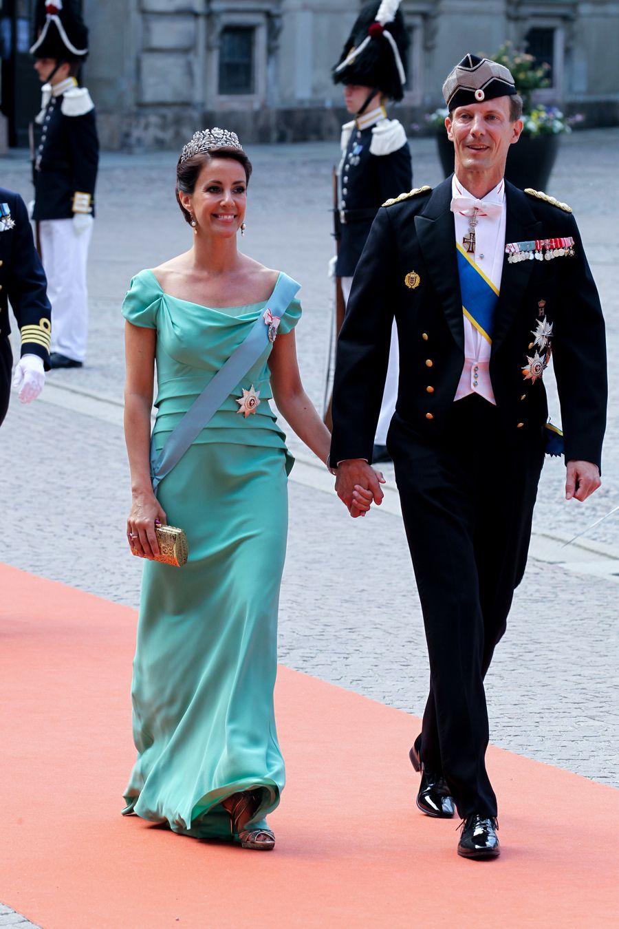 Gästerna på det kungliga bröllopet!