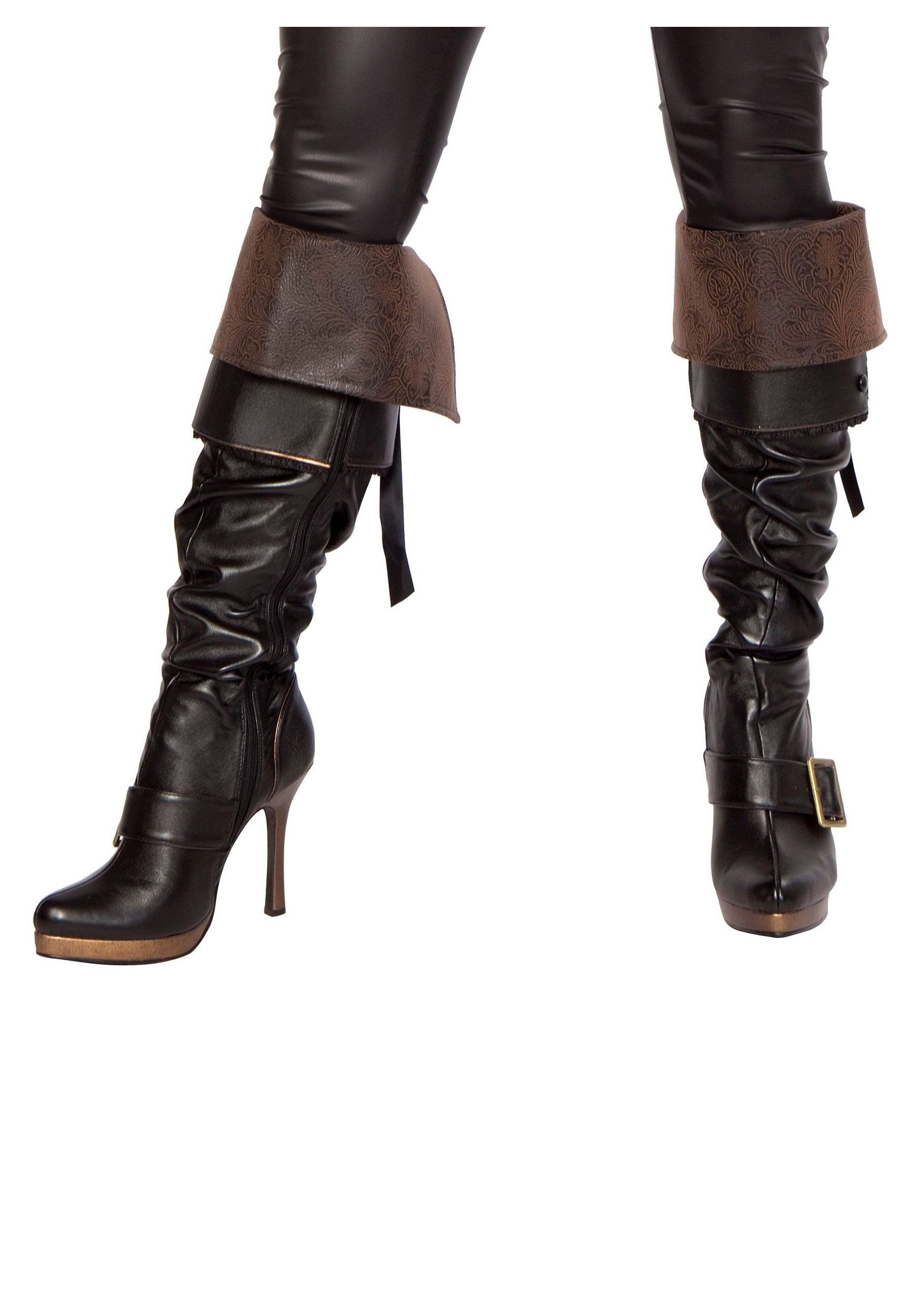 1ad61f4d29b more cool lady pirate boots | steampunk and pirate clothing | Boots ...