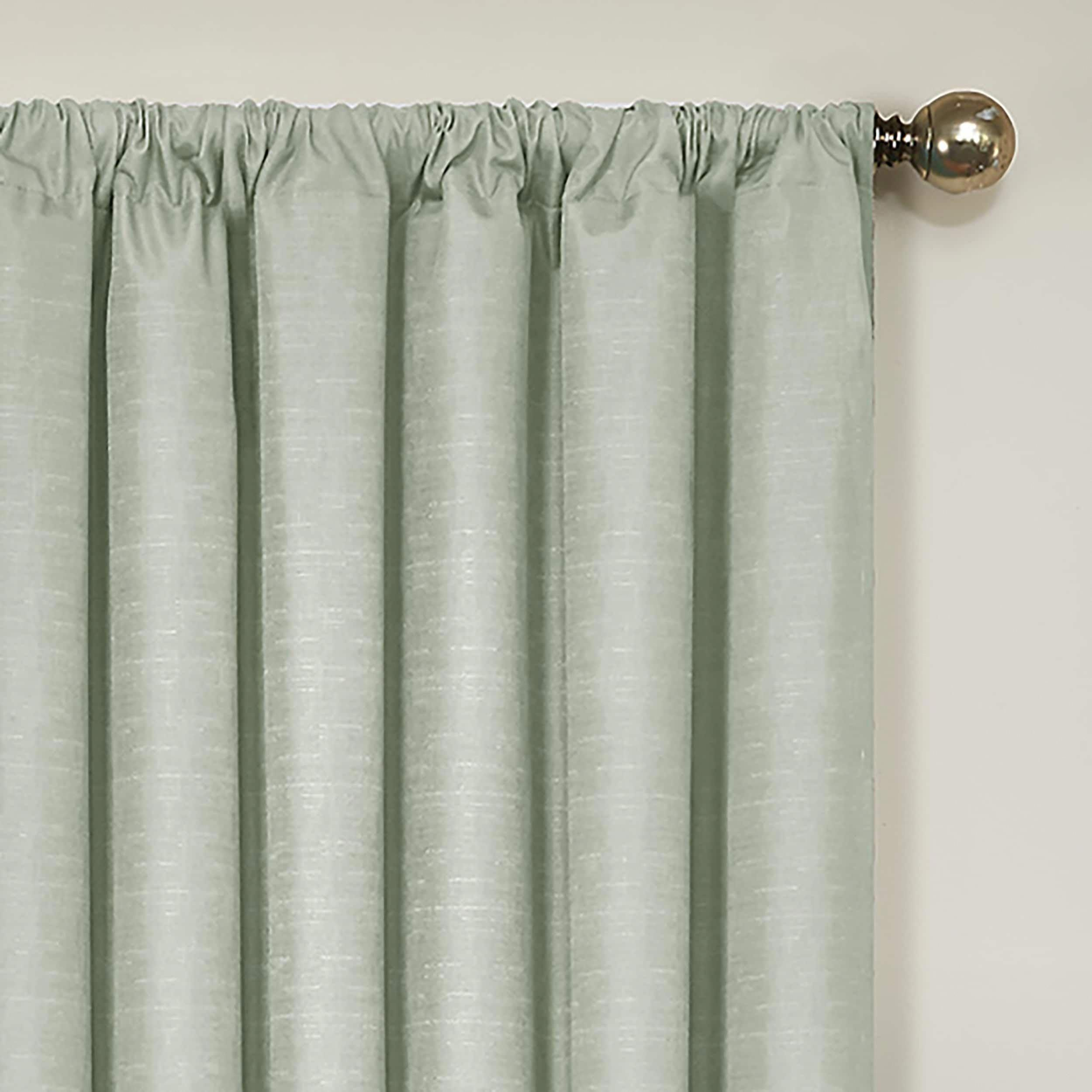 Eclipse Kendall Blackout Window Curtain Panel 42x63 Spa Blue Wash Homedecor Panel Curtains Cool Curtains Curtains