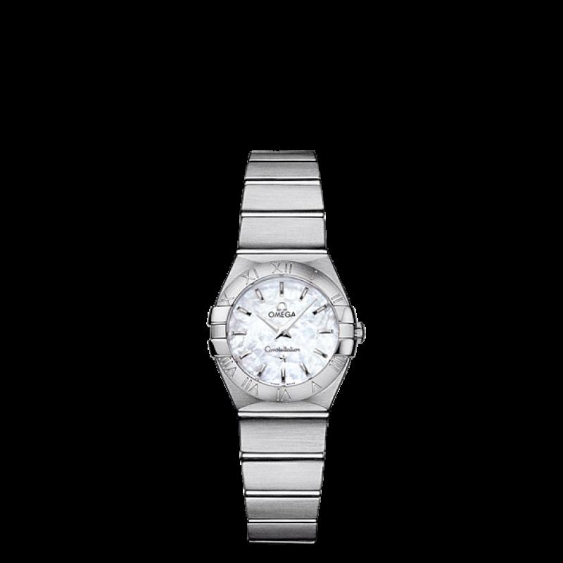 Omega Constellation Quartz 24mm O12310246005001