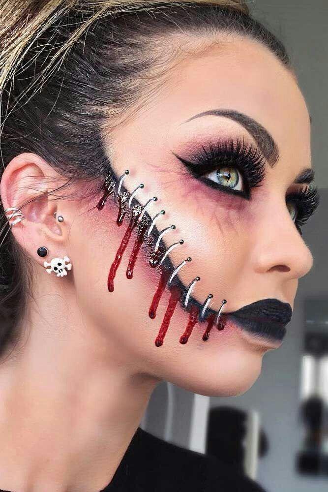 Halloween Makeup Ideas 2019 Scary.Cool Halloween Makeup Halloween In 2019 Halloween Makeup