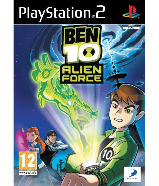 Ben 10 Alien Force For Ps2 Based On The American Animated