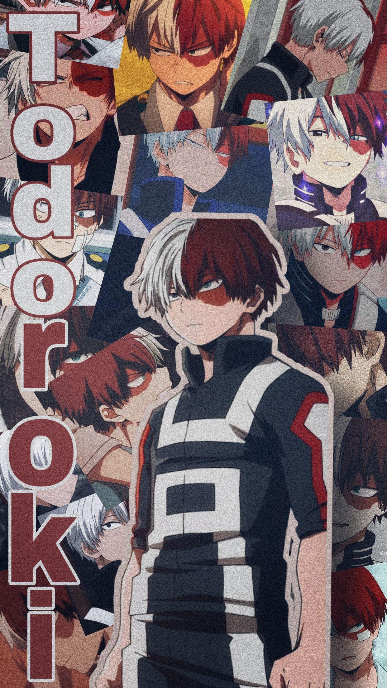 Todoroki wallpaper #freetoedit #todoroki #mha #animewallpaper