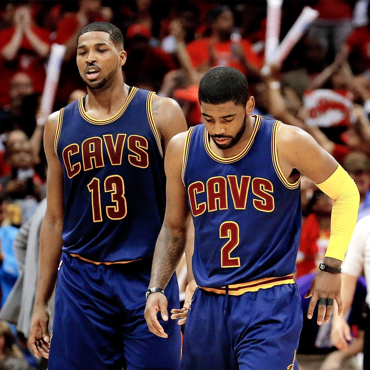 Kyrie Irving misses 2nd straight game vs. Hawks with knee tendinitis Cleveland Cavaliers  #ClevelandCavaliers