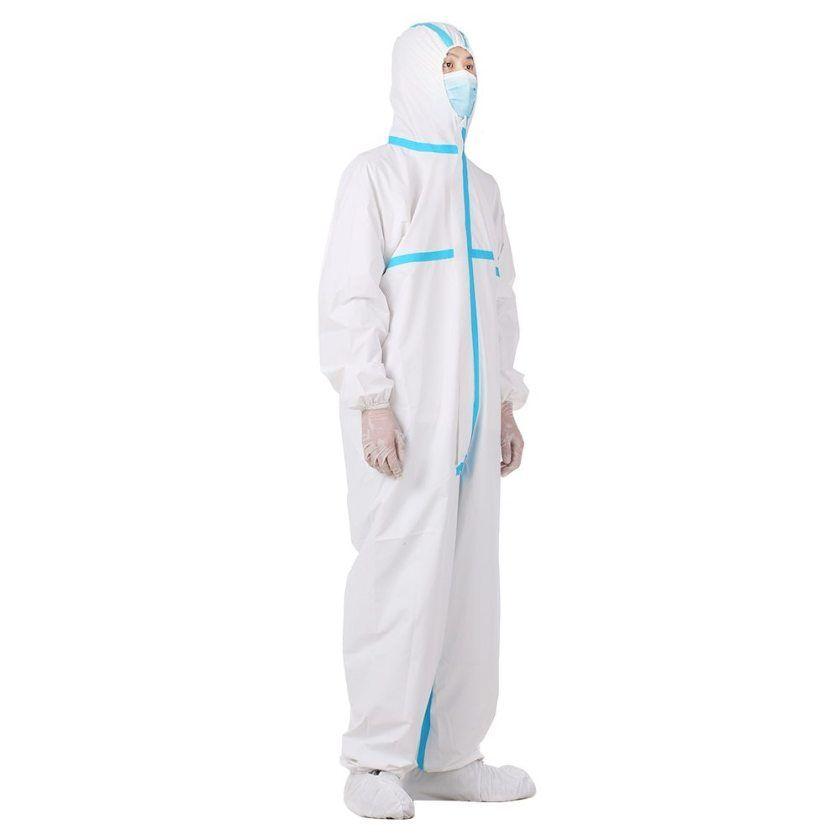 Réutilisable Combinaison Vêtement De Protection Isolation Robe à Capuche Sécurité globale Workwear