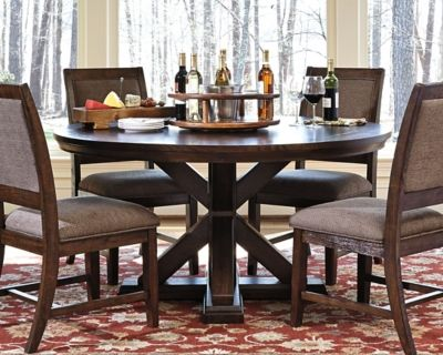 Windville Dining Room Table Dark Brown Dining Room Table